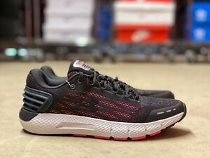 Under Armour Charged Rogue Womens Running Shoes Black Pink 3021247 105 Multi Sz $44.99