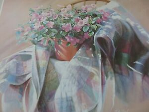 Vintage 1985 Nancy Noel Lithograph NEVER USED  $29.99