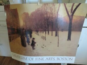 Vintage 1983 Childe Hassam Museum of Fine Arts Boston HUGE LITHOGRAPH  $49.99