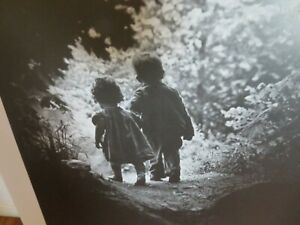 Vintage 1985 W. Eugene Smith The Walk to Paradise Garden Lithograph $29.99