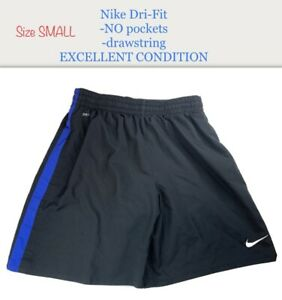 Nike Dri Fit Men's Size S Small Running Jogging Black Training Shorts EXCELLENT! $16.99