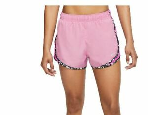 NIKE Women's Tempo Running Shorts Color Magic Flamingo And Floral Print SZ SMALL $19.99