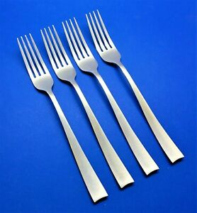 Cambridge ARDEN SATIN Stainless Flatware -- Set of 4 Dinner Forks