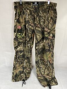 Mossy Oak Break Up Country Womens Cargo Jeans Pants Camo Hunting Size XL