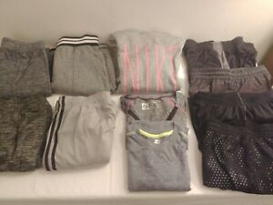 Lot of girls athletic Clothes Burnside Under Armour, Nike, Adidas M Youth XL, L $87.50