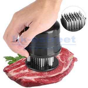 Needle Meat Tenderizer Injector Flavor For Steak Marinade 56 Pin Kitchen Tool