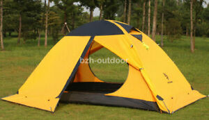 2 Person Double Layer Anti Hard Rain Mountaineering Camping Hiking Outdoor Tent $99.99