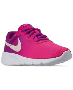 New Nike Girls Tanjun Print Casual Sneakers Size 6 $34.99