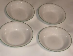 Corelle Sun Garden Four Soup Cereal Bowls Discontinued Pattern NEW