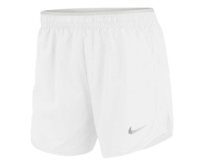 Nike Shorts Womens Small or Medium White Authentic Tempo Lux 5 Inch Running $25.99