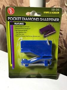 SE Pocket Diamond Sharpener SB-DS Knife & Scissor New
