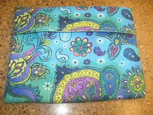 Microwave Baked Potato Bag - Bright Blues, Aquas, Greens