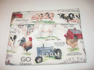 Microwave Baked Potato Bag - Farm Scenes