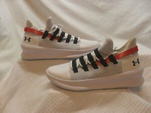 Under Armour Basketball Shoe M Tag Low White Men Size US 10, 3021800 100 $48.99