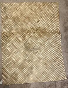 "Bamboo Weave 38x49"" Floor Mat Yoga Exercise Nap Natural Philippines"