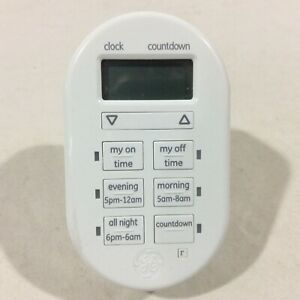 General Electric 26892 My Touch smart Indoor Plug-In Digital Timer