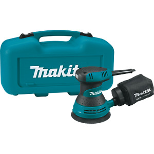 Makita BO5030K R 5quot; Random Orbit Sander with Tool Case Recon