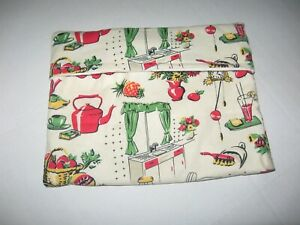 Microwave Baked Potato Bag - Fifties Kitchen-Retro