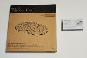 Pampered Chef Black Silicone Microwave Potato Chip Maker #1241 New