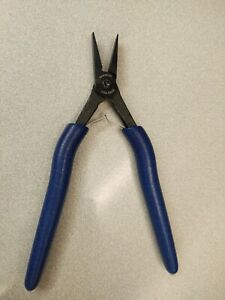 Swanstrom Tools USA S800E Flat Nose #0 Serrated Plier
