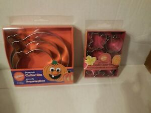 Wilton Metal Cookie Cutters Halloween Fall Thanksgiving New