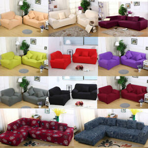 Universal Sofa Cover 1 2 3 4 Seater Stretch Couch Slipcover Furniture Protector