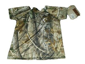 NWT Prois Hunting Women#x27;s Short Camo Shirt Made in USA Medium New Camouflage
