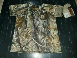 NWT Prois Hunting Women#x27;s Camo Shirt made in USA XS New Camouflage extra small