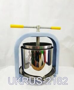 Juice press LAN manual apples pears grapes tomatoes for wine or drinking 25L
