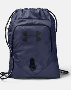 Under Armour Backpack Drawstring Bag Authentic UA Undeniable Blue Ink Black $24.99