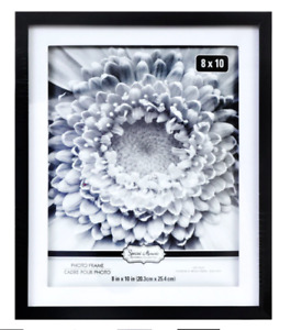 8#x27; X 10#x27; Black Matted Picture Frame with Wall Mount Two Toned Special Moments