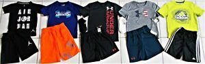 BOY'S SIZE 5 6 UNDER ARMOUR, NIKE & ADIDAS 12 PIECE CLOTHING LOT IN EUC NWT! $105.00