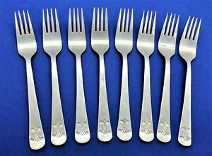IKEA KEJSARKRONA Stainless Flatware -- Set of 8 Salad Forks