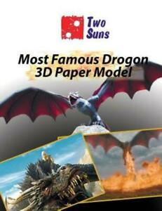 Most Famous Drogon 3D Paper Model: how to build own dragon