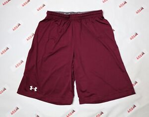 Under Armour Shorts Men's Small Wine $15.99