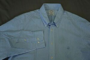 Brooks Brothers Regent Non Iron Long Sleeve Button Front Sport Shirt. L, NWT!! $34.99