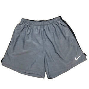 """Nike Running Shorts 9"""" Men's Medium Blue with Liner Excellent Condition $18.00"""