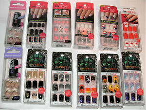 KISS IMPRESS NAILS LOTS OF NEW NAILS AUGUST  AUGUST
