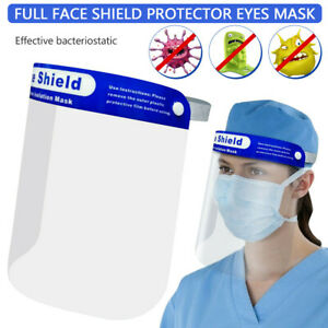 Novelty Kitchen Cooking Anti Oil Splash Clear Face Mask Shield Protector new