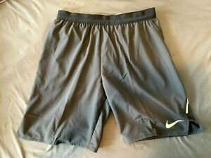 Men's 7 Brief Lined Running Shorts Nike Flex Stride cd8329 010 Black Medium $35.00