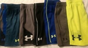 Lot Of 8 Boys Under Armour Size 6 Shorts & Hoodie $33.00