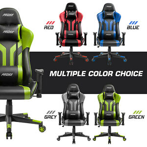 Gaming Chair Office 180° Recliner Racing Style Computer Seat Swivel Desk Chair $129.99