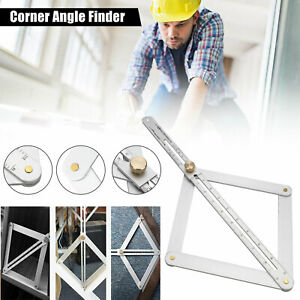 2020 Stainless Steel Corner Angle Finder Ceiling Artifact Tool Square Protractor $9.98