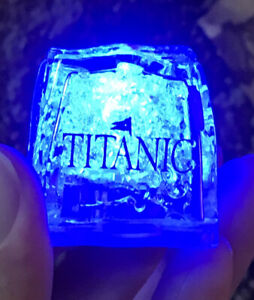 Titanic Museum Attraction Promo Light Up Litecubes RMS Pigeon Forge Tourism