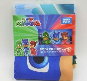 PJ Masks Body Pillow Cover Case NEW 20 in X 54 in $13.45