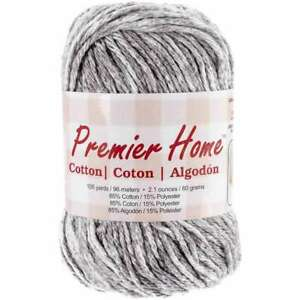 Home Cotton Yarn Multi Grey Splash 847652042220