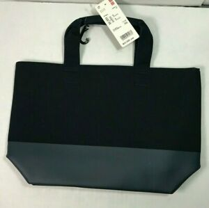 UNIQLO Tote Bag Shopping Canvas Bag Navy Bag Japanese Import