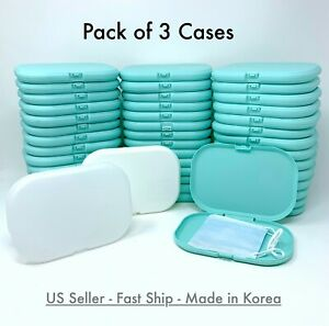3 PCS Face Mask Carrying Case Box Cover Storage Protective Portable Holder Masks $9.99