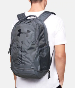 Under Armour Backpack Gray Authentic UA Hustle 3.0 Storm Fits 15 Inch Laptop $46.99