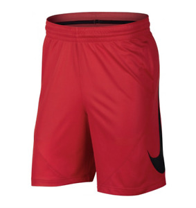 Nike Shorts Mens Large Genuine Red Dri Fit HBR 9 Inch Basketball Gym Training $27.99